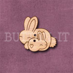 Rabbits Button