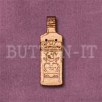 Gin Bottle Button
