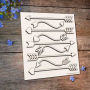 Chipboard Arrows Set