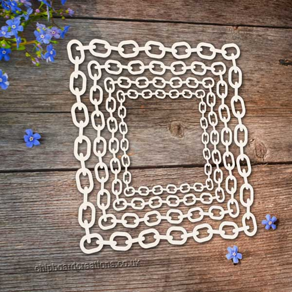 Chipboard Square Chain Frame