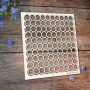 Chipboard Circles Background