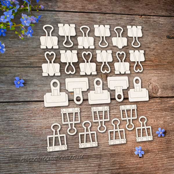 Chipboard Clips