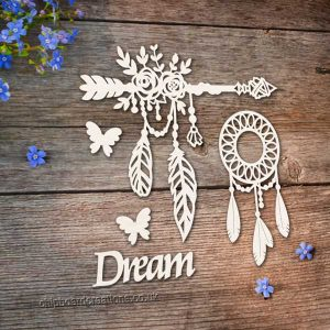 Chipboard Dreamcatcher Set