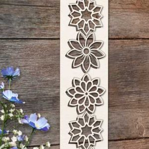 Chipboard Flower Elements