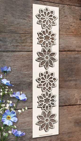Chipboard Flower Elements