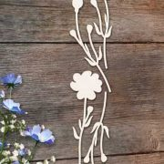 Chipboard Flowers 3