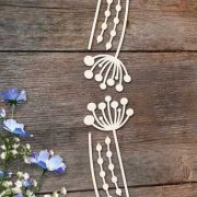 Chipboard Flowers 4