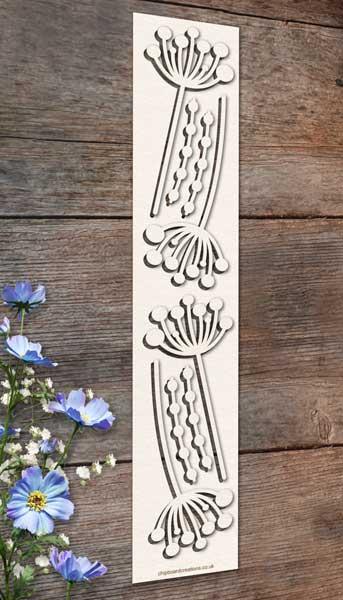 Chipboard Flowers 4