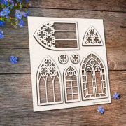 Chipboard Gothic Windows