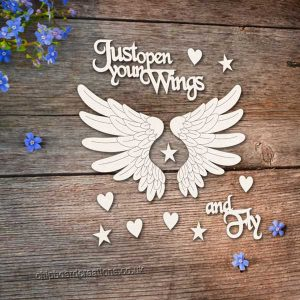 Chipboard Wings