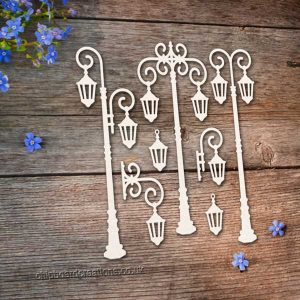 Chipboard Lamp Posts 4