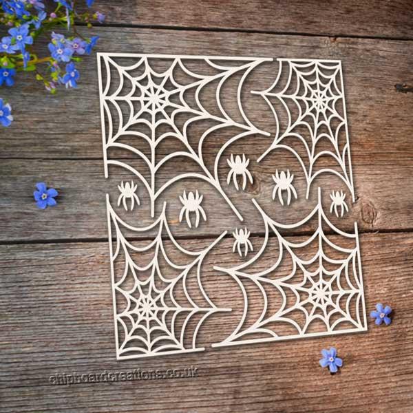 Chipboard Cobwebs
