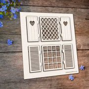 Chipboard Windows and Shutters