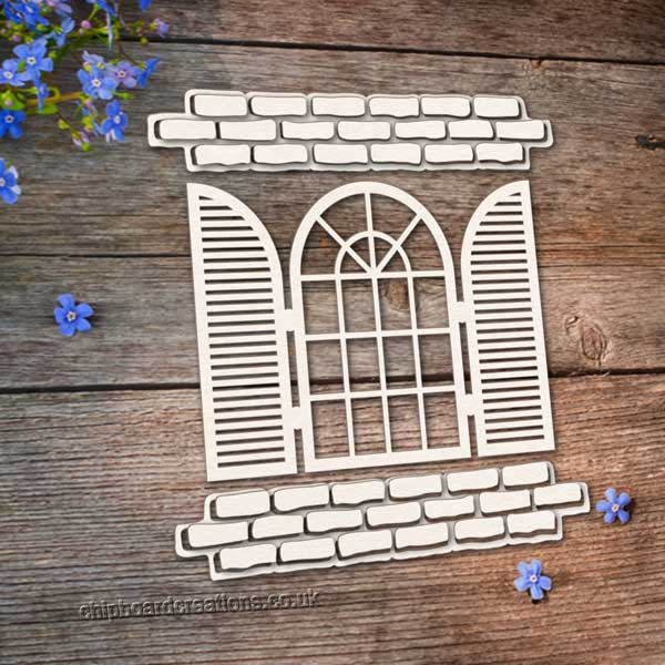 Chipboard Window and Shutters