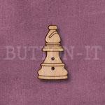 1285 Chess Piece Button-Bishop