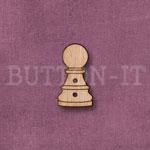 1288 Chess Piece Button-Pawn