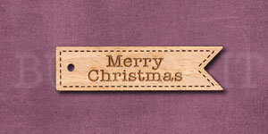 Sentiment Flag Merry Christmas