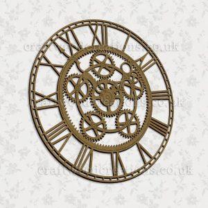 Steampunk Style Clock