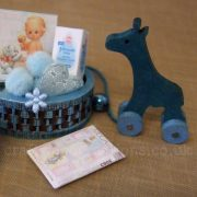 MDF Miniature Faux Pull Along Toys Sample