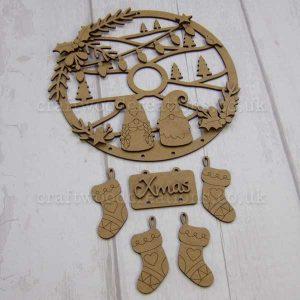 "Seasonals Collection Xmas Dream Catcher ""Xmas Tomte"""