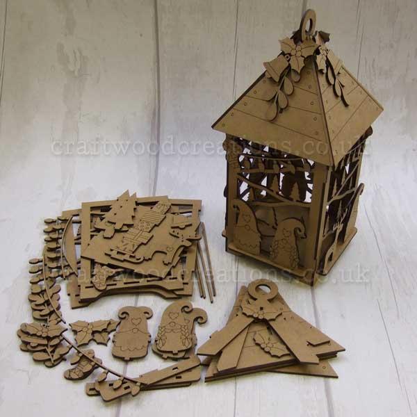 "Seasonals Collection Xmas 3D Lantern ""Tomte"""