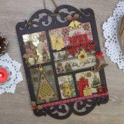 "Seasonals Collection Xmas Plaque Pack ""Noel"""