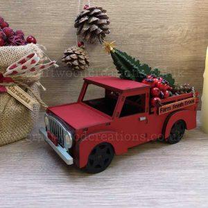 "Seasonals Collection Xmas 3D Truck ""Tree"""