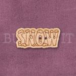 Snow Word Button
