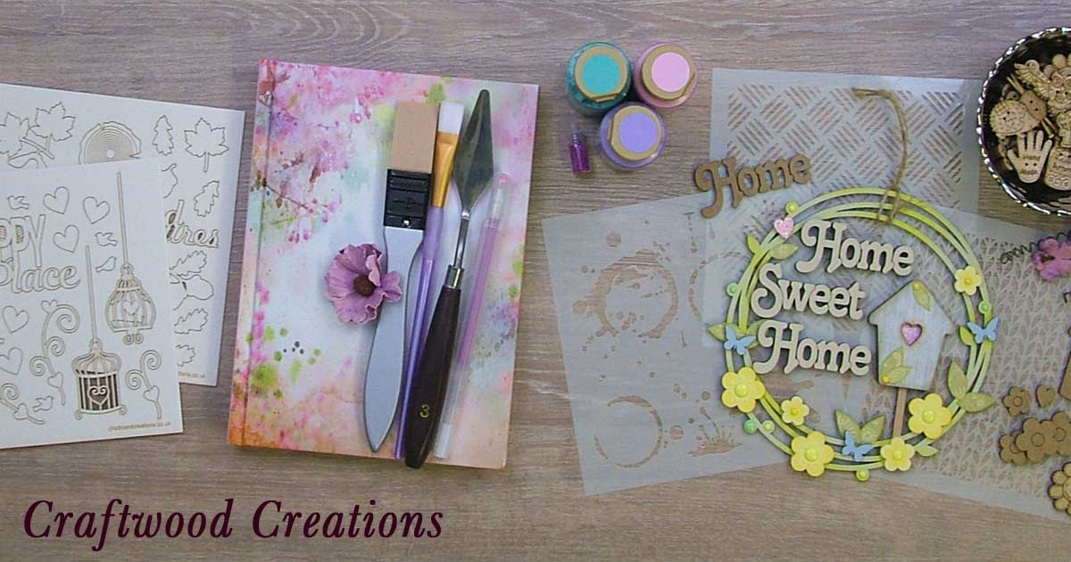 Craftwood Creations Laser Cut Selection