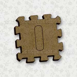 Jigsaw Alphabet Tile I