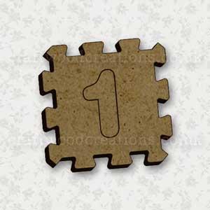 Jigsaw Alphabet Tile 1