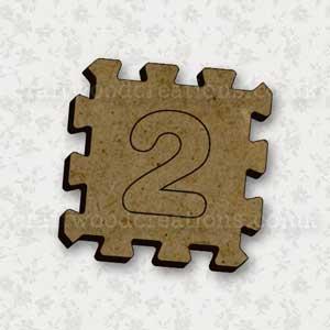 Jigsaw Alphabet Tile 2