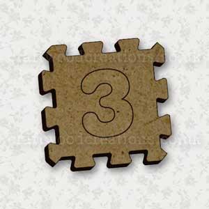 Jigsaw Alphabet Tile 3