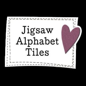 Jigsaw Alphabet Tiles